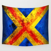 cyclops Wall Tapestries featuring Cyclops by Some_Designs