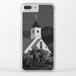 The Chapel Clear iPhone Case