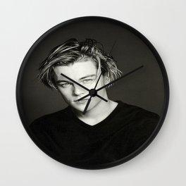 Leonardo DiCaprio Portrait Wall Clock