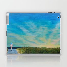 Walking to the Beach Laptop & iPad Skin