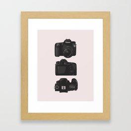 Shoot Me Framed Art Print
