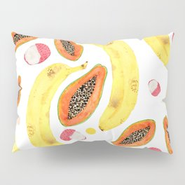 tropical juice (white) Pillow Sham