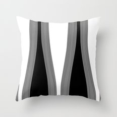 Fleurs du mal Throw Pillow