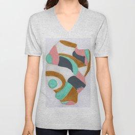 Multicolored Rock Unisex V-Neck