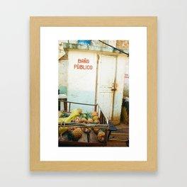 Salud Framed Art Print