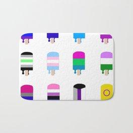 LGBT+ Pride Popsicles Bath Mat