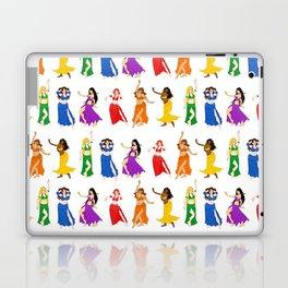 Belly Dancers - Rainbow Colors Laptop & iPad Skin