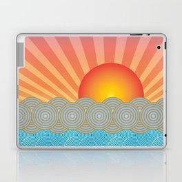 Oriental Seaview Sunset Laptop & iPad Skin