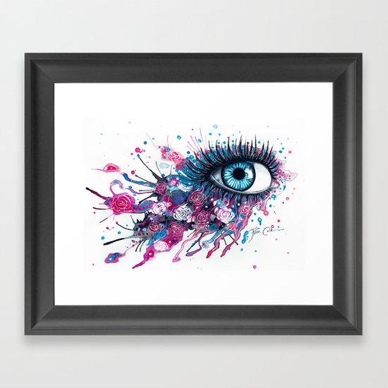"""""""Midnight Rose"""" Framed Art Print"""