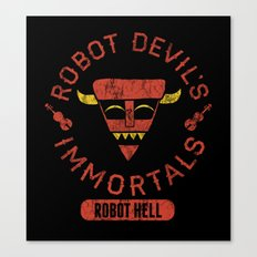 Bad Boy Club: Robot Devil's Immortals  Canvas Print
