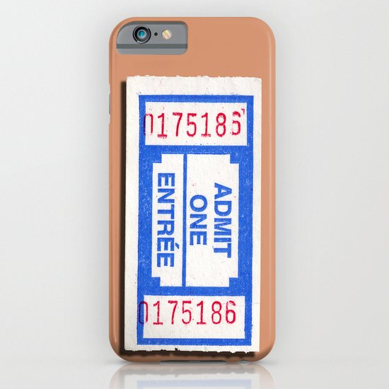 Admit 2 please iPhone & iPod Case