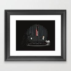The Dark Side of Magic Framed Art Print