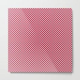 Lollipop and White Polka Dots Metal Print