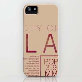 The City of Angels iPhone Case