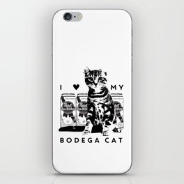 I ♥ My Bodega Cat iPhone Skin