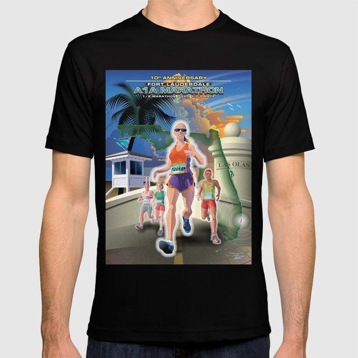 Fort Lauderdale A1A Marathon T-shirt