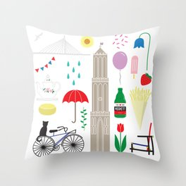 UTRECHT Throw Pillow
