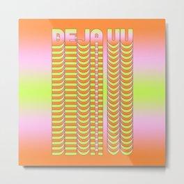 Deja Vu Metal Print