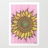 SOLFLOWER Art Print