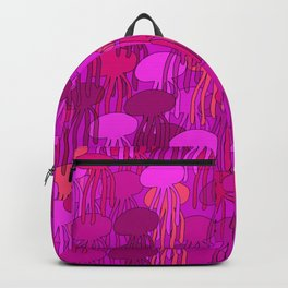 Jellyfish-Pink Backpack