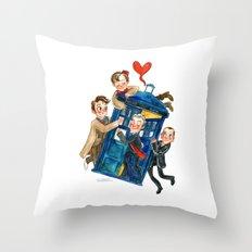 Doctor Who Hug Throw Pillow