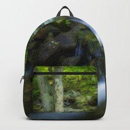 Hidden forest waterfall Backpack