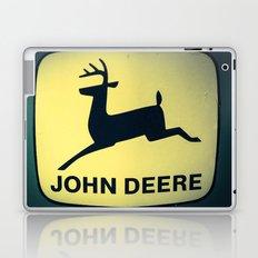 The Old Tractor Logo  (John Deere) Laptop & iPad Skin