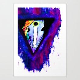 t r i c l o p s e corn.  Art Print