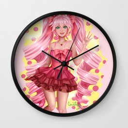 Cute & Pink Wall Clock