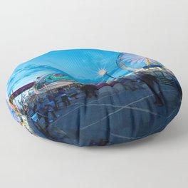 Calgary Stampede Midway  Floor Pillow