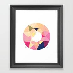 Datadoodle Donut Framed Art Print