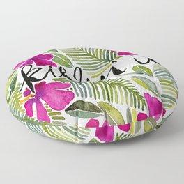 Killin' It – Tropical Pink Floor Pillow