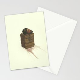 I shudder at the thought of your Poor empty hunter's pouch Stationery Cards