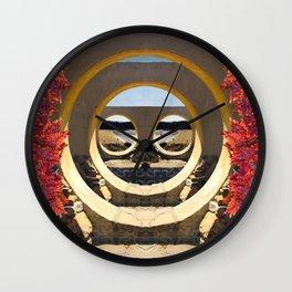 The Secret Portal Wall Clock