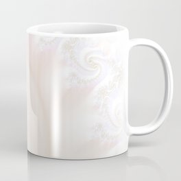 Ocean Treasure -- Mother of Pearls Mandelbrot Coffee Mug