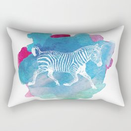 Color Spot Safari Zebra Rectangular Pillow