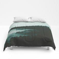dark fog Comforters