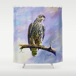 Ayres's Hawk Eagle Shower Curtain