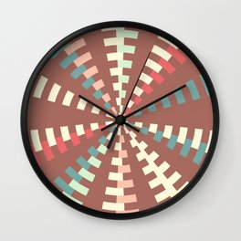 Dashed vortex Wall Clock
