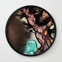 The Year 2020 When Trees Give Birth to People There Will be Balance and the Night Shall Sleep Again Wall Clock