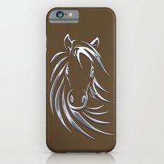 Horse Head Brown  Slim Case iPhone 6