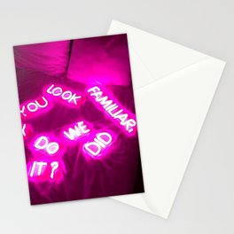 Did we? Stationery Cards