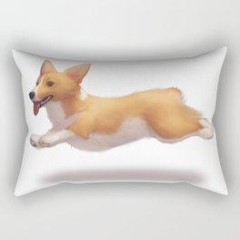my corgi Rectangular Pillow