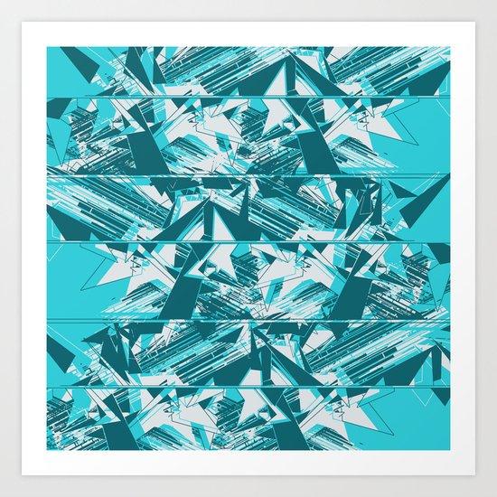 Disarrange  Art Print