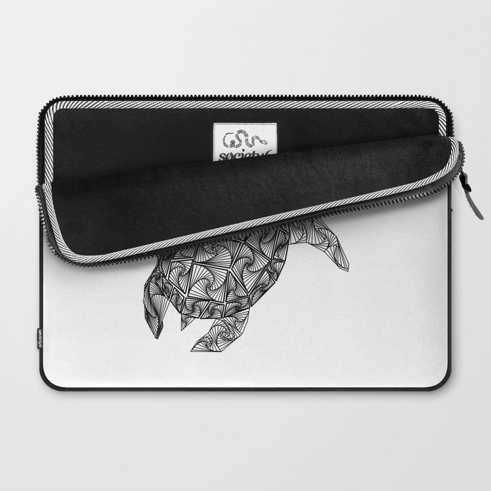 Geo Zen Turtle Laptop Sleeve