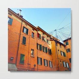 Bologna Building Metal Print