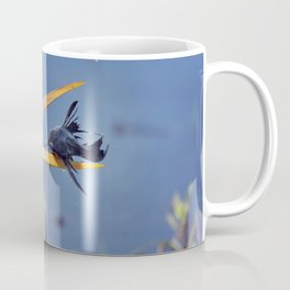 Great Blue Heron with Sailfin Catfish Coffee Mug