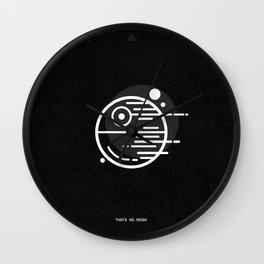 Deathstar - Thats No Moon Wall Clock