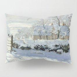 Claude Monet - The Magpie Pillow Sham