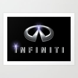 Infiniti Art Print